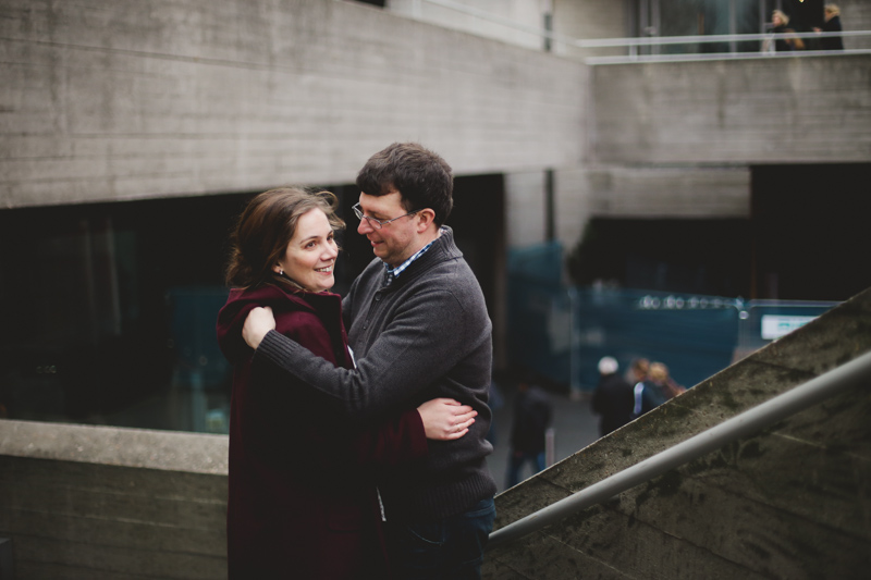 fun winter engagement shoot by love oh love photography