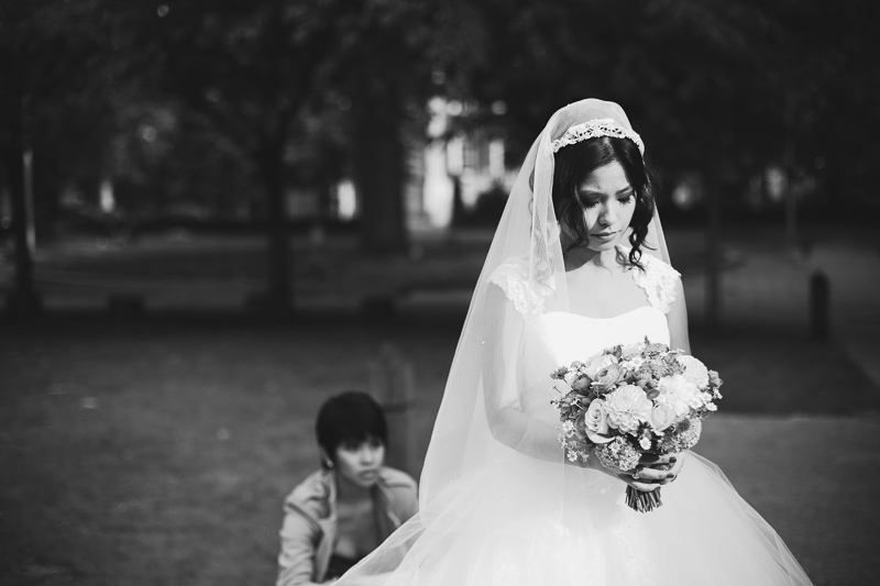 bridal portrait by Love oh Love photography