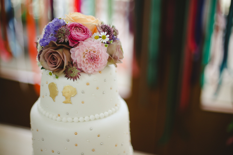 wedding cake shot by Love oh Love photography