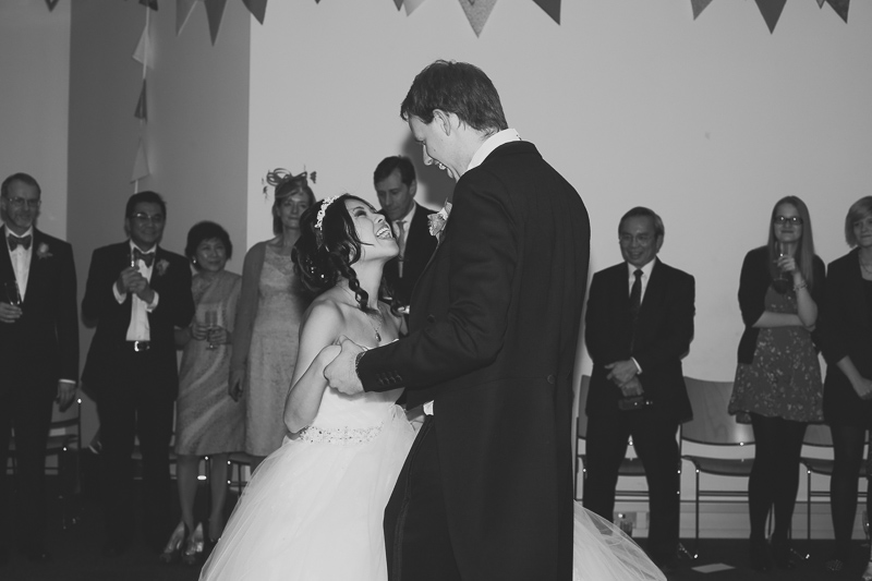 first dance at st pauls hammersmith London by Love oh Love photography