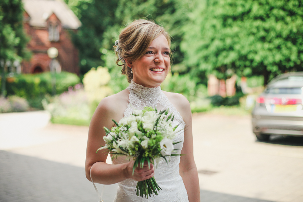 Lakeside Tower Nottingham bridal portrait by love oh love photography
