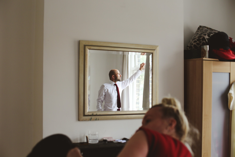 groom portrait for London wedding by love oh love photography