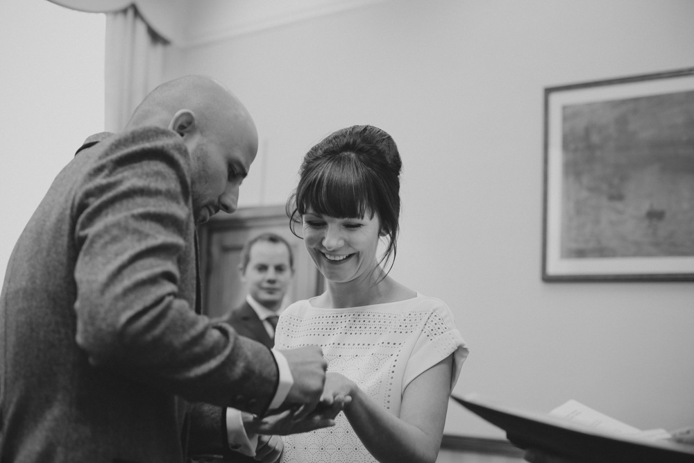 Islington Town Hall civil ceremony wedding by love oh love photography