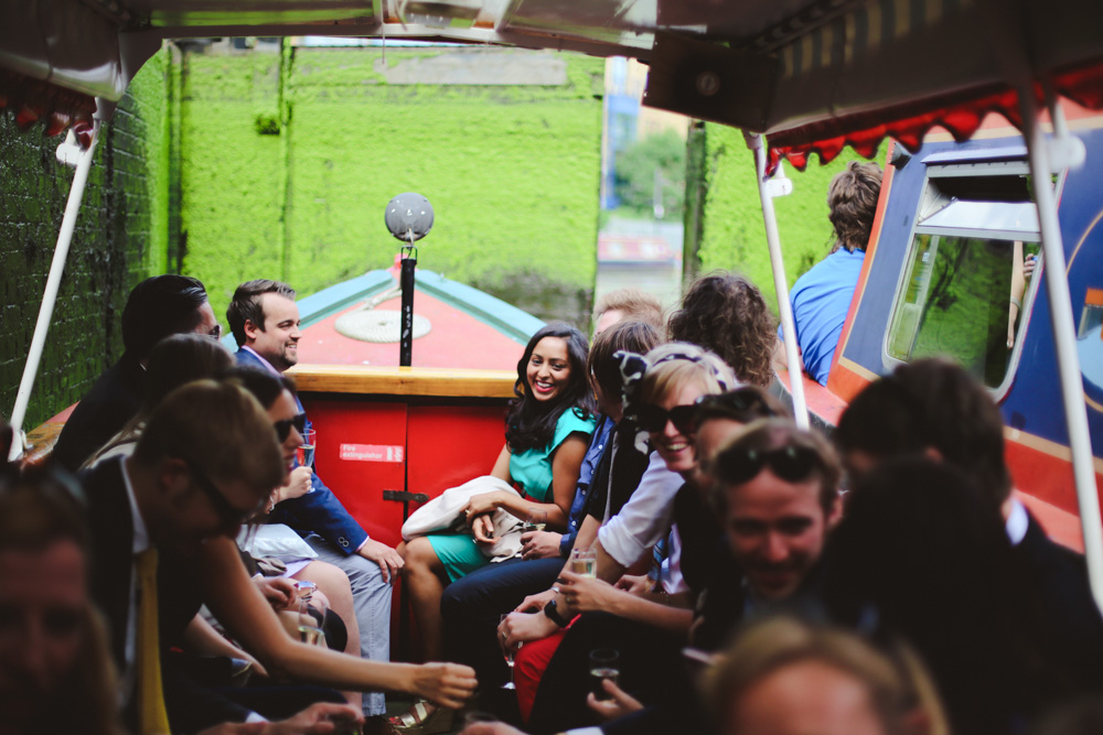 guests on a boat by love oh love photography