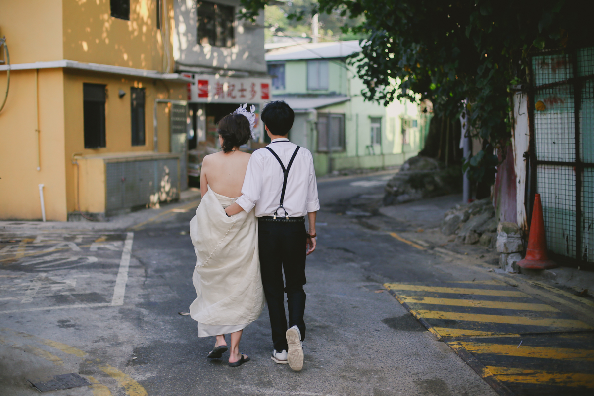 Vintage bride and groom portraits by Love oh love photography