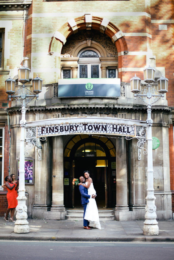 Guest at Old Finsbury Town Hall, London by Love oh Love photography