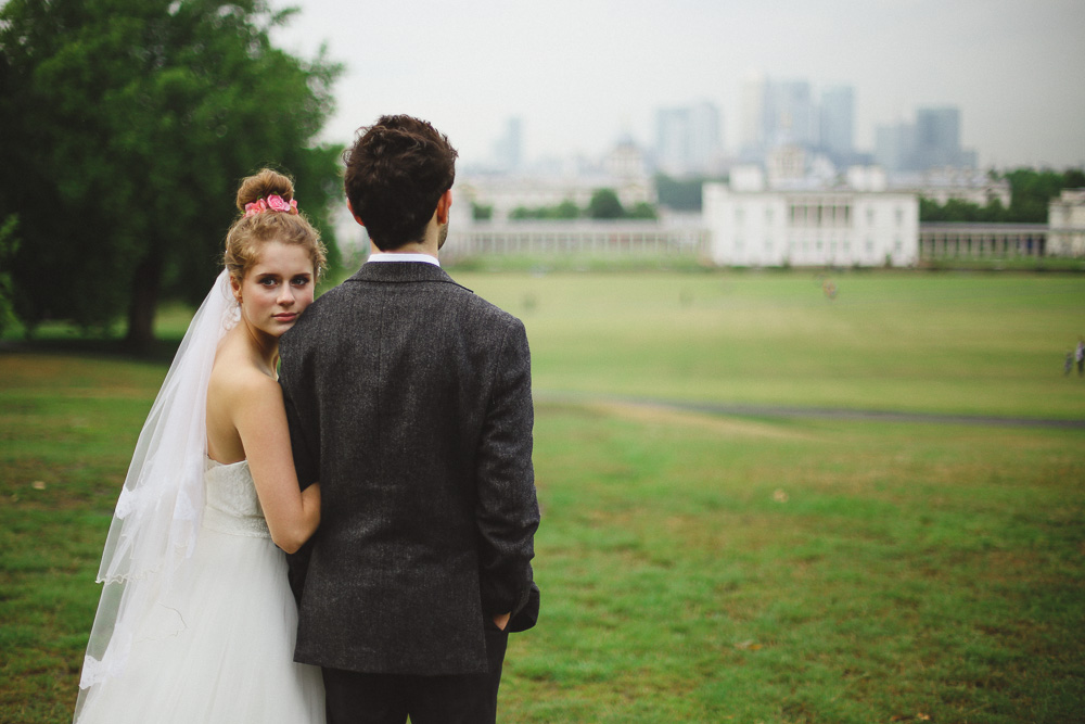 vintage inspired wedding in London by Love oh Love photography