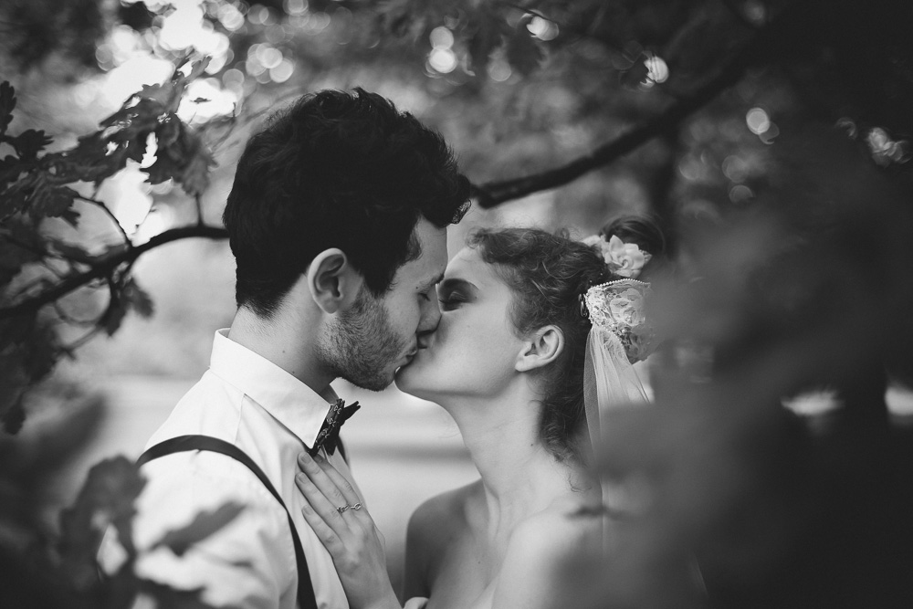 Quirky bride and groom portraits by Love oh Love photography